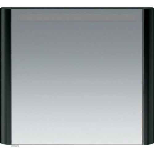 Зеркало-шкаф Am.Pm Sensation 80 R антрацит