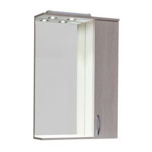 Зеркало-шкаф Aquanet Донна 60 беленый дуб