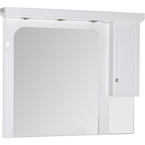 Зеркало-шкаф Aquanet Фредерика new 140