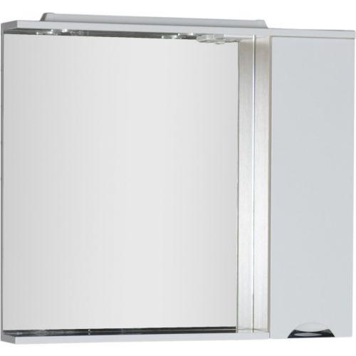Зеркало-шкаф Aquanet Гретта 100 светлый дуб
