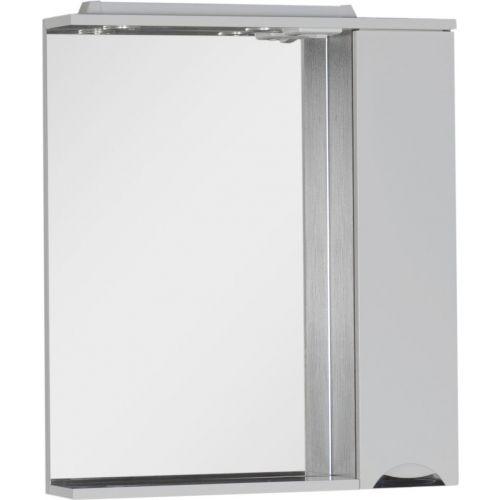 Зеркало-шкаф Aquanet Гретта 75 венге