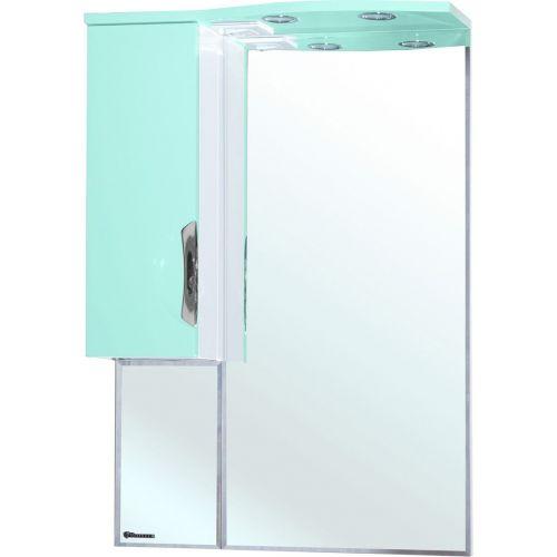 Зеркало-шкаф Bellezza Лагуна 65 L салатовый