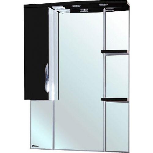 Зеркало-шкаф Bellezza Лагуна 75 L черный
