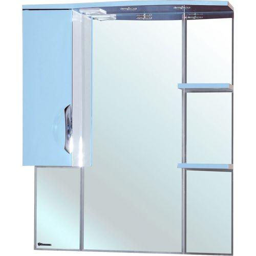 Зеркало-шкаф Bellezza Лагуна 75 L голубой