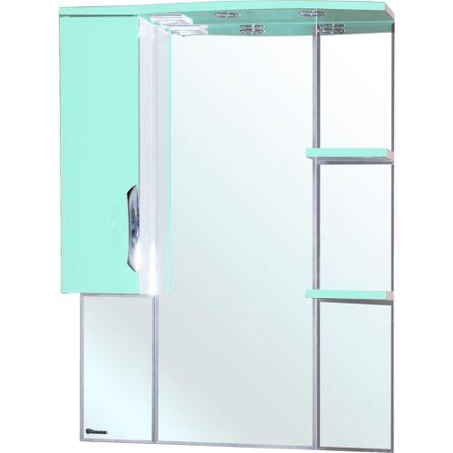 Зеркало-шкаф Bellezza Лагуна 75 L салатовый