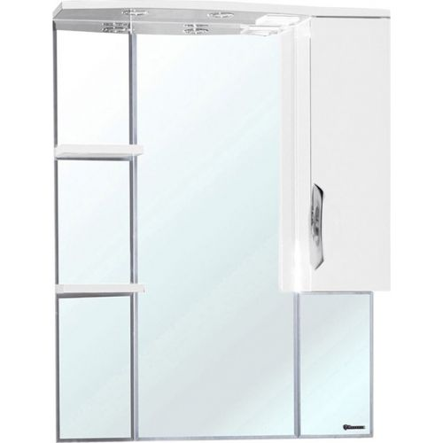 Зеркало-шкаф Bellezza Лагуна 75 R белый