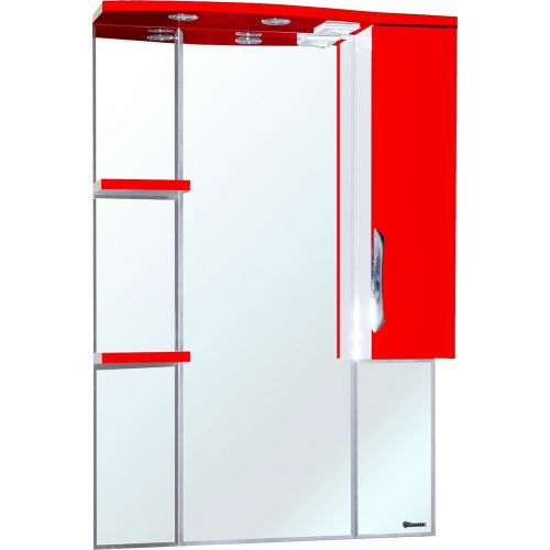 Зеркало-шкаф Bellezza Лагуна 75 R красный