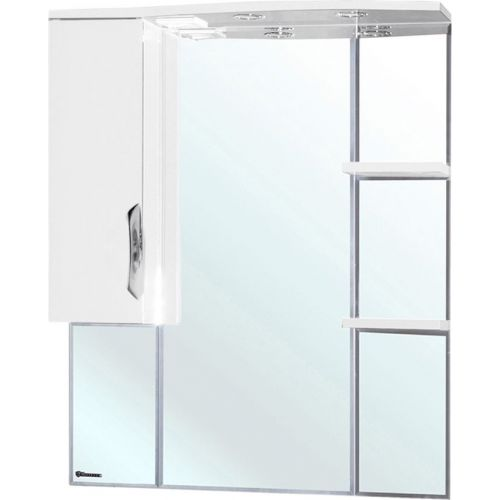 Зеркало-шкаф Bellezza Лагуна 85 L белый