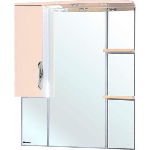 Зеркало-шкаф Bellezza Лагуна 85 L бежевый