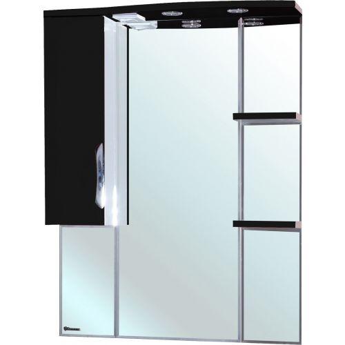 Зеркало-шкаф Bellezza Лагуна 85 L черный
