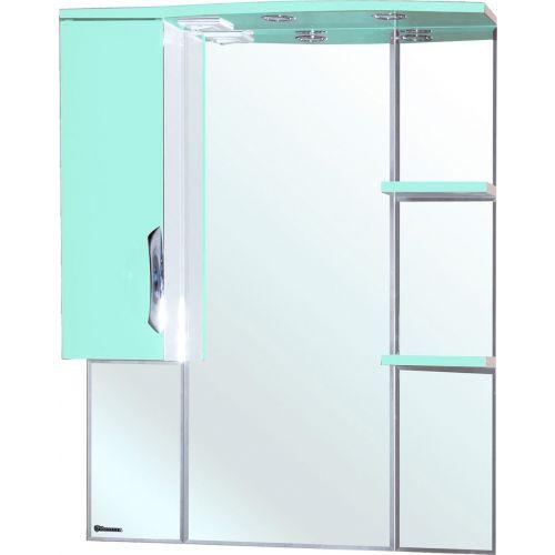 Зеркало-шкаф Bellezza Лагуна 85 L салатовый