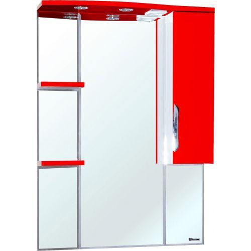 Зеркало-шкаф Bellezza Лагуна 85 R красный