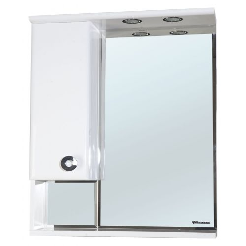 Зеркало-шкаф Bellezza Неаполь 70 L белый
