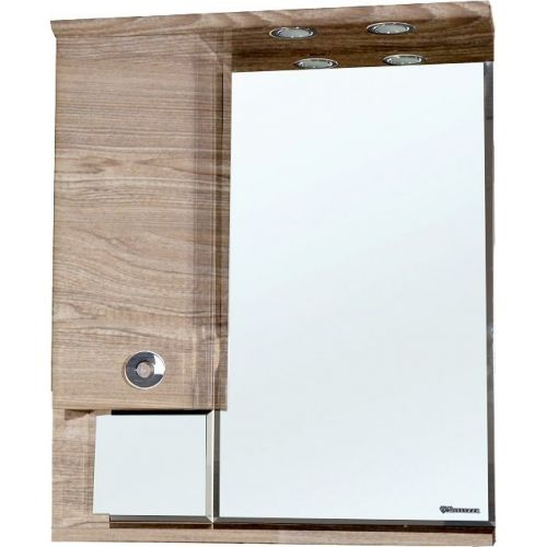 Зеркало-шкаф Bellezza Неаполь 70 L карпатская ель