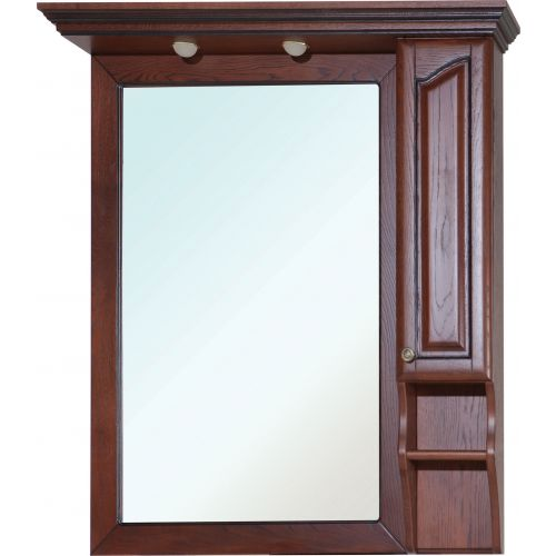 Зеркало-шкаф Bellezza Рим 100 R вишня