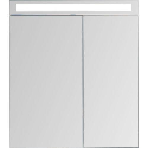 Зеркало-шкаф Dreja Max 70 белый глянец, с подсветкой