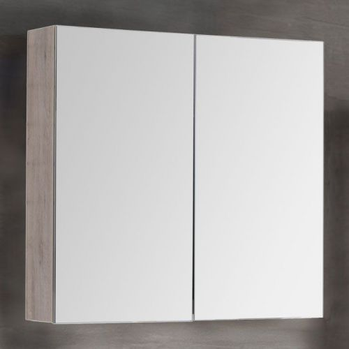 Зеркало-шкаф Dreja Premium 80 дуб кантри