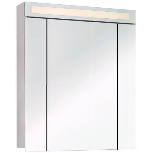 Зеркало-шкаф Dreja.eco Uni 80 белый
