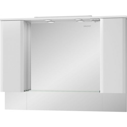 Зеркало-шкаф Edelform Amata 120 с подсветкой