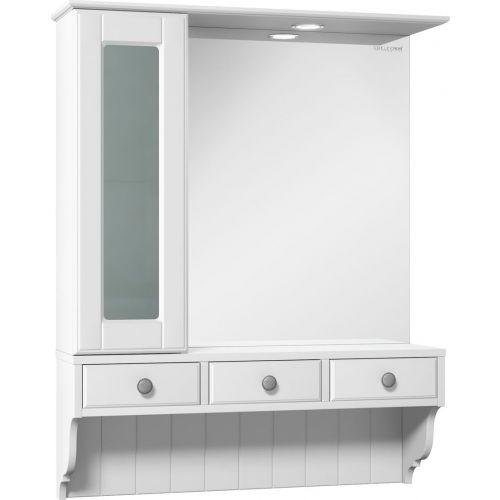 Зеркало-шкаф Edelform Dijon 80 с подсветкой