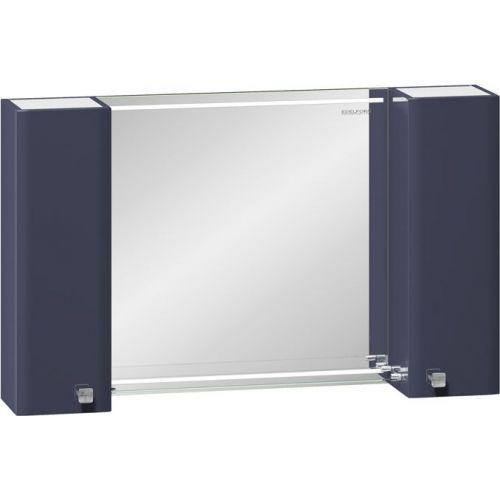 Зеркало-шкаф Edelform Nota 105 серое, с подсветкой