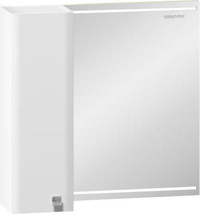 Зеркало-шкаф Edelform Nota 65 белое, с подсветкой