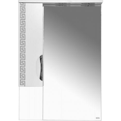 Зеркало-шкаф Misty Престиж 60 L серебряная патина