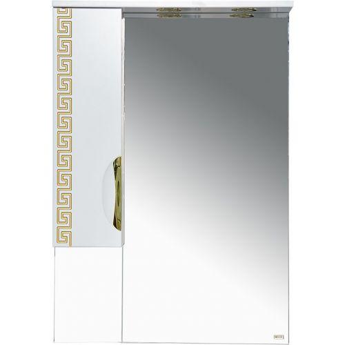 Зеркало-шкаф Misty Престиж 60 L золотая патина