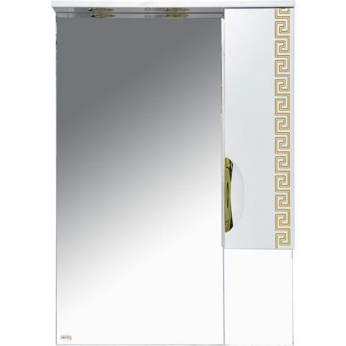 Зеркало-шкаф Misty Престиж 60 R золотая патина