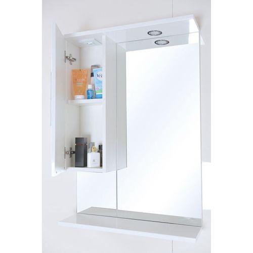 Зеркало-шкаф Onika Флорена 62.01 L белый