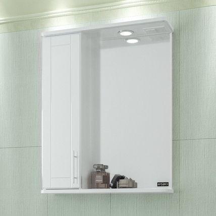 Зеркало-шкаф СанТа Дублин 60 свет L