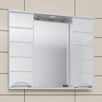 Зеркало-шкаф СанТа Родос 80 свет