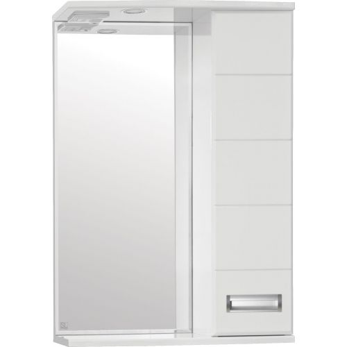 Зеркало-шкаф Style Line Ирис 55/С белый