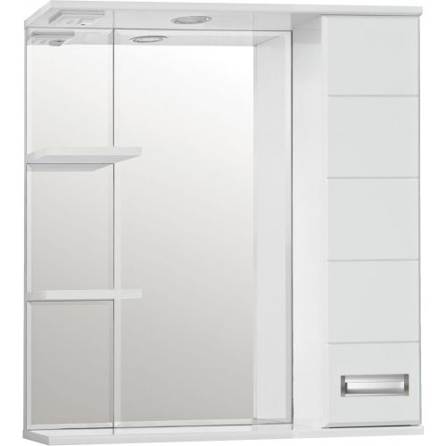 Зеркало-шкаф Style Line Ирис 75/С белый