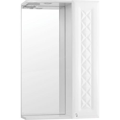 Зеркало-шкаф Style Line Канна 50/С Люкс, белый