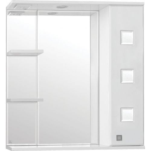 Зеркало-шкаф Style Line Крокус 75/С белый