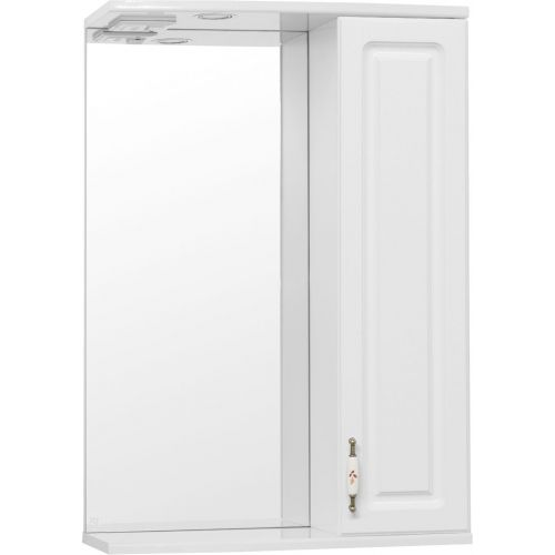 Зеркало-шкаф Style Line Олеандр-2 55/С Люкс, белый