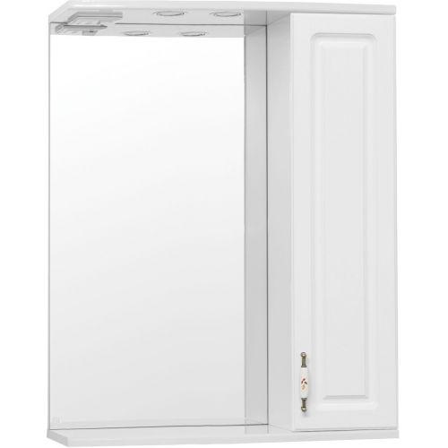 Зеркало-шкаф Style Line Олеандр-2 65/С Люкс, белый