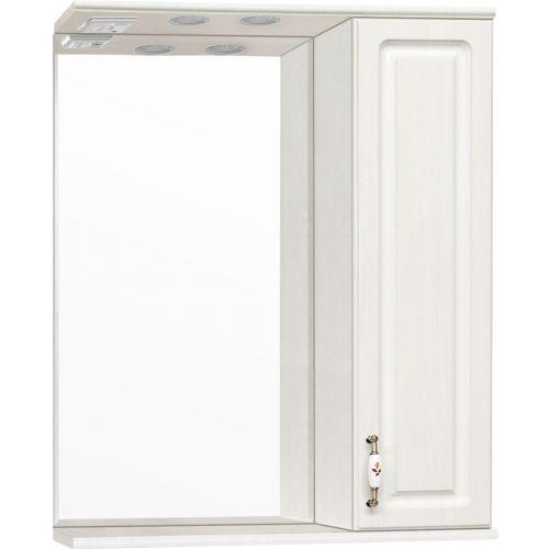Зеркало-шкаф Style Line Олеандр-2 65/С Люкс, рельеф пастель