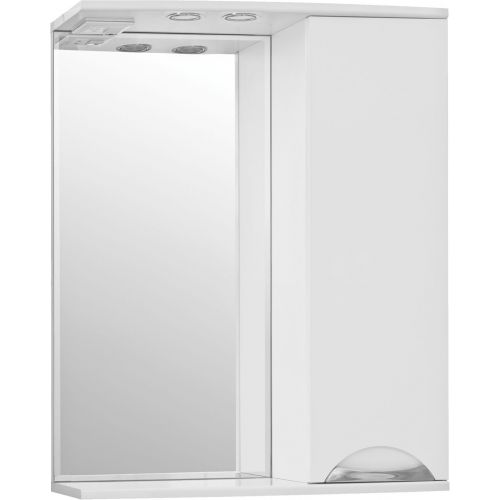 Зеркало-шкаф Style Line Жасмин 65/С белый