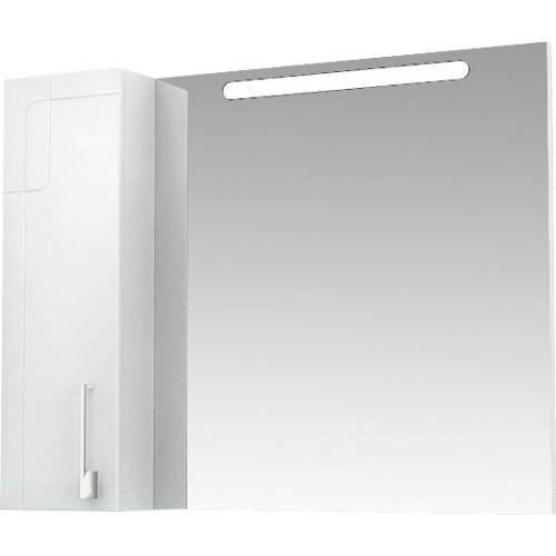 Зеркало-шкаф Triton Диана 100 L с подсветкой, белый