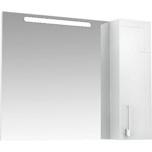 Зеркало-шкаф Triton Диана 100 R с подсветкой, белый