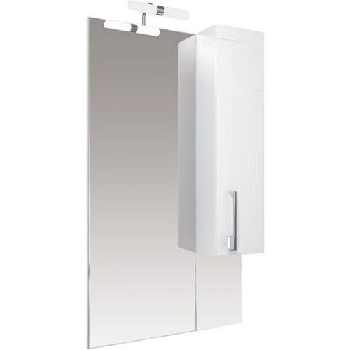 Зеркало-шкаф Triton Диана 60 R с подсветкой, удлиненный, белый