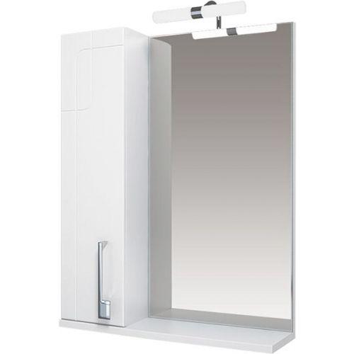 Зеркало-шкаф Triton Диана 65 L, с подсветкой, белый