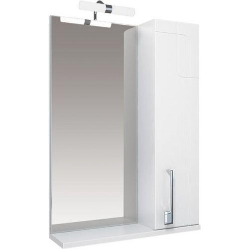 Зеркало-шкаф Triton Диана 65 R, с подсветкой, белый