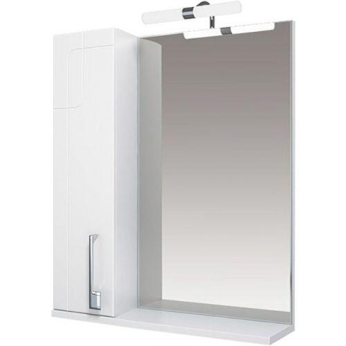 Зеркало-шкаф Triton Диана 70 L, с подсветкой, белый