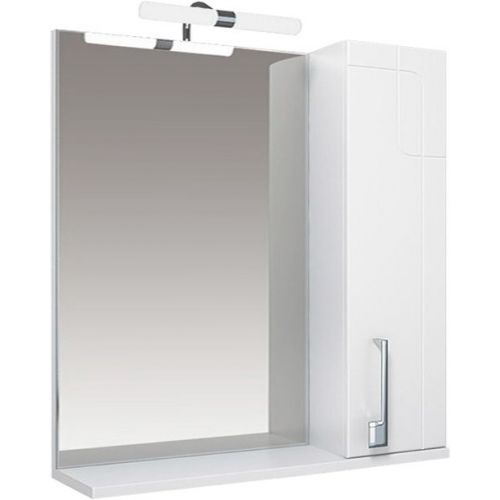 Зеркало-шкаф Triton Диана 80 R, с подсветкой, белый