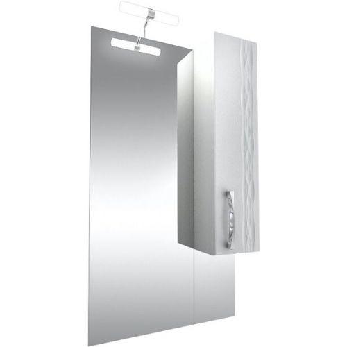 Зеркало-шкаф Triton Кристи 60 R с подсветкой, удлиненный, белый