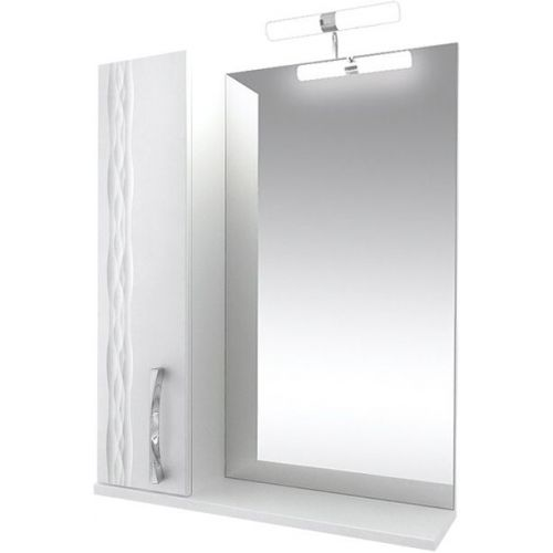 Зеркало-шкаф Triton Кристи 65 L с подсветкой, белый