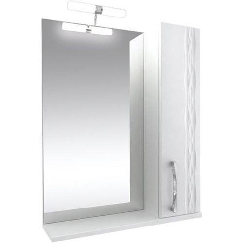 Зеркало-шкаф Triton Кристи 65 R с подсветкой, белый
